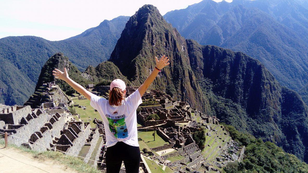 Subida a Machu Picchu