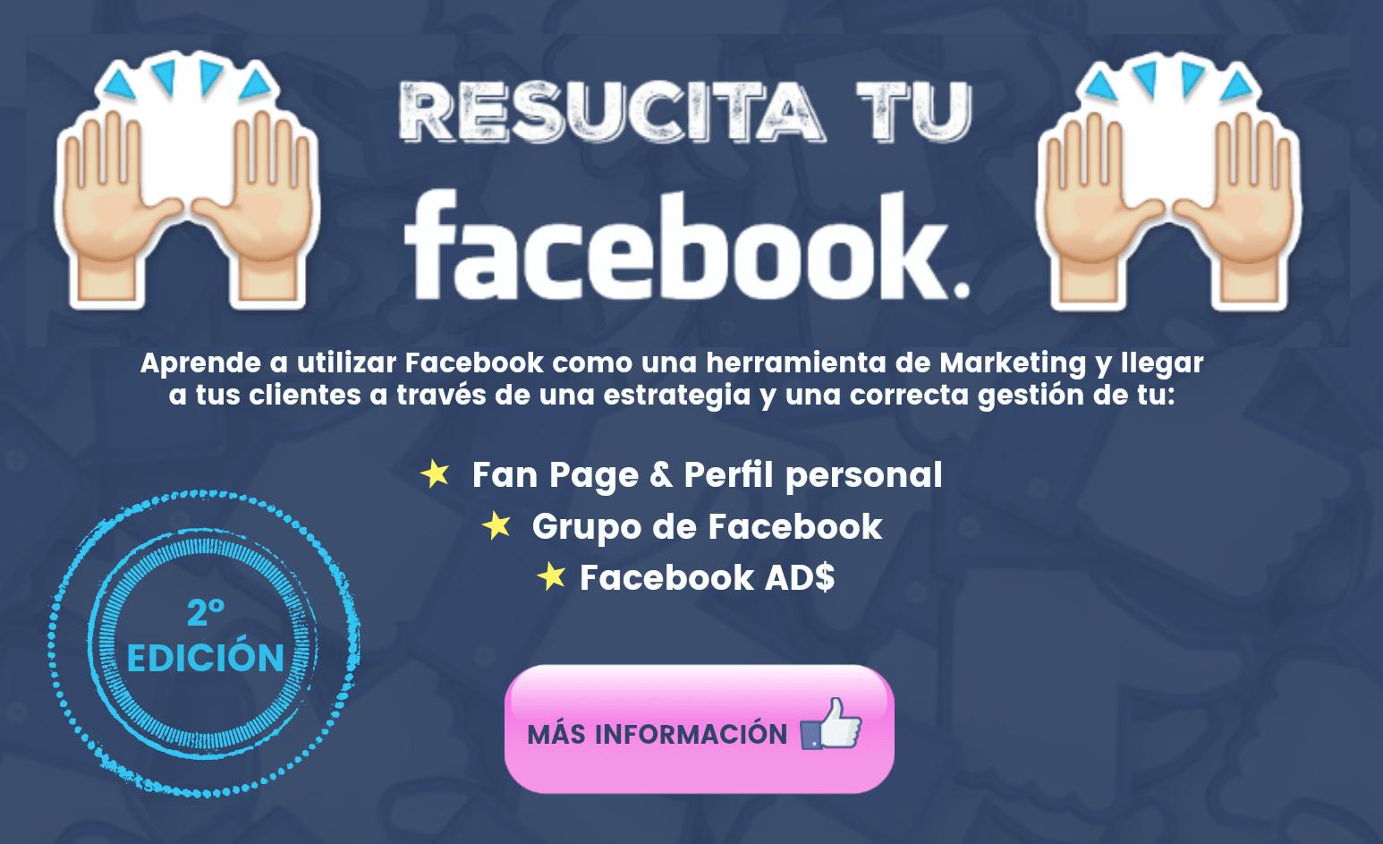 Resucita tu Facebook segunda edición