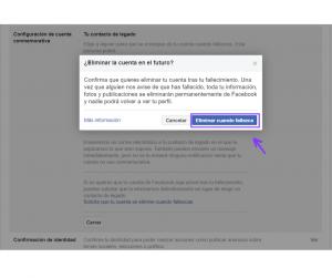 imágen 5 Facebook cuando te mueres