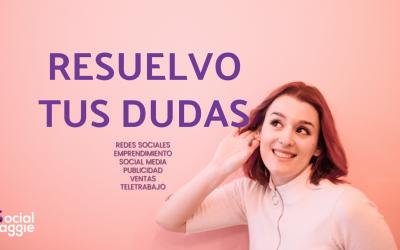 RESUELVO TUS DUDAS SOBRE LAS REDES SOCIALES DE TU PROYECTO